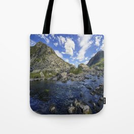 Pen yr Ole Wen and Tryfan Tote Bag