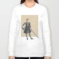 dark souls Long Sleeve T-shirts featuring Dark Souls- Daphne by mio-mio