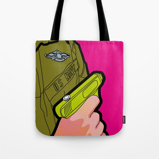 Pop Icon - War Machine Tote Bag