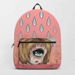 Crying cyclops coloured Backpack