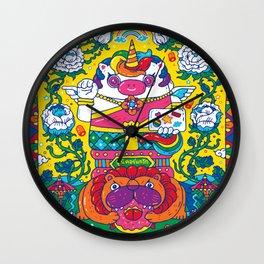 Unicorn Kwak Wall Clock