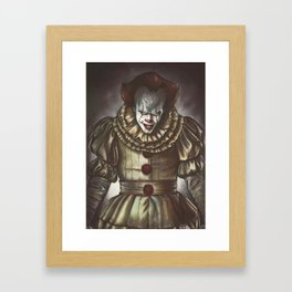 Pennywise the Dancing Clown Framed Art Print