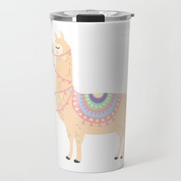 My Llama Don't Like You Cute Llama Party Travel Mug
