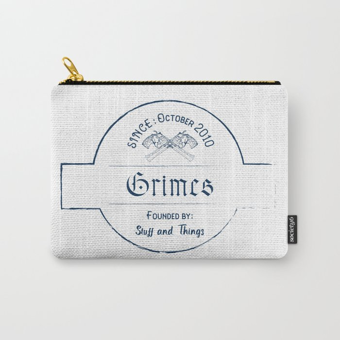 Grimes: Stuff and Things Carry-All Pouch