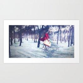 Negua/Invierno/Winter Art Print