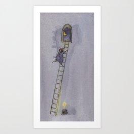 The Night-Time Art Print