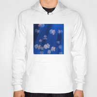 jellyfish Hoodies featuring jellyfish by shennyche