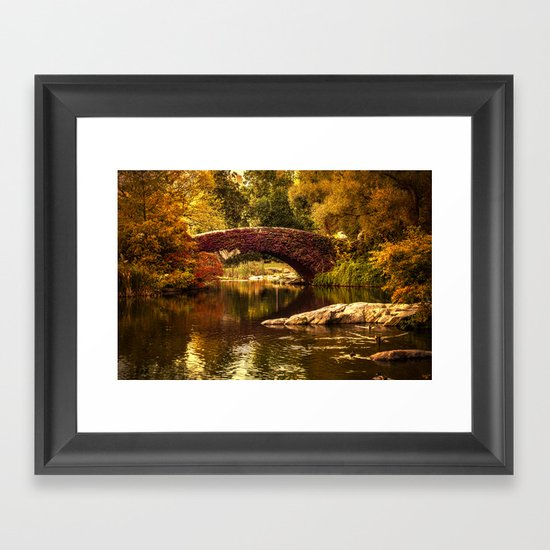 The Gapstow Bridge Framed Art Print