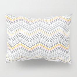 Dash & Dot - Neapolitan Chevron Pillow Sham