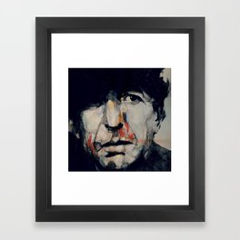 Hey That's No Way To Say Goodbye Framed Art Print