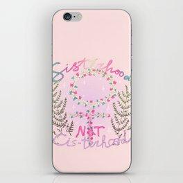sisterhood not cis-terhood iPhone Skin