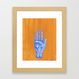 Nature Hands Framed Art Print