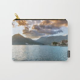 Sunset over Perast Carry-All Pouch