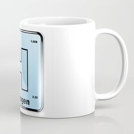 Hydrogen From The Periodic Table Coffee Mug