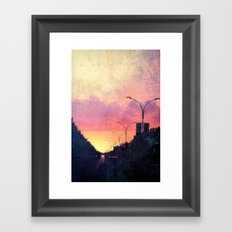 The End of Days. Framed Art Print