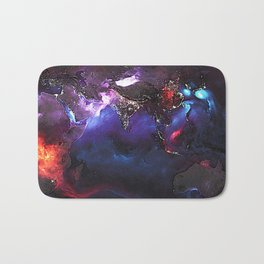 Beauty of Pollution / Aerosol Earth - Eastern Part Bath Mat