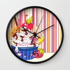 Sundae Darling Wall Clock