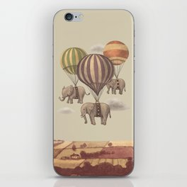 Flight of the Elephants  iPhone Skin