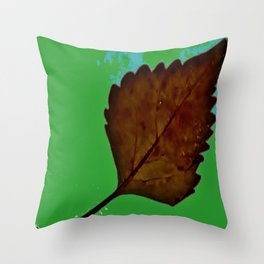 BE LIKE A LEAF #5 Throw Pillow