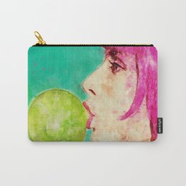 Bubble gum girl Carry-All Pouch