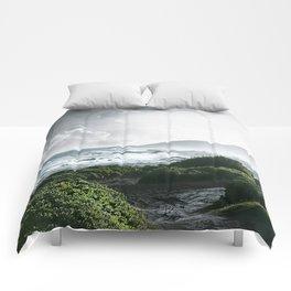 Sandy Beach, Hawaii Comforters