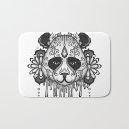 Blacksilver Panda Spirit Bath Mat
