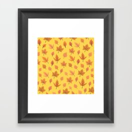 Hi Autumn Framed Art Print