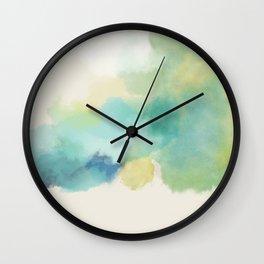 The Golden Sea Wall Clock