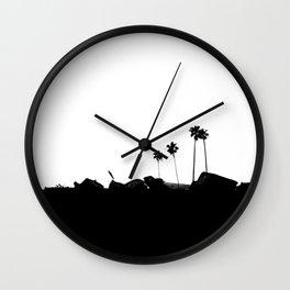 Palm 03 Wall Clock