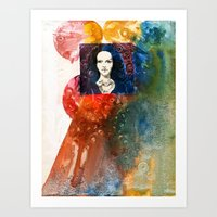 lucy Art Prints featuring Lucy by Ecsentrik