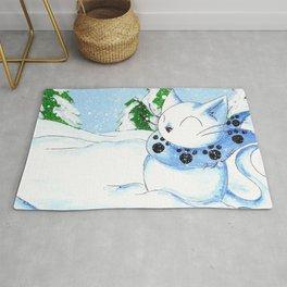 Snowcat Rug