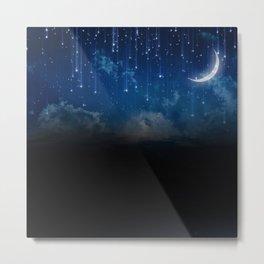 Summer night sky Metal Print