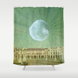 Equinox Moon Shower Curtain
