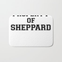 Property of SHEPPARD Bath Mat
