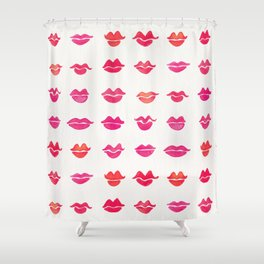 Kiss Collection – Pink Palette Shower Curtain