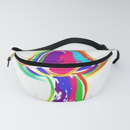 Om magic mushrooms goa psytrance Gift Idea Fanny Pack