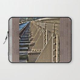 Old railway bridge in the Netherlands Laptop Sleeve
