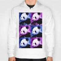 pandas Hoodies featuring Pandas by SwanniePhotoArt