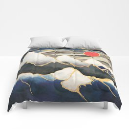 Ice Mountains Comforters