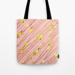 Creeping Flower & Leaves 3 Tote Bag