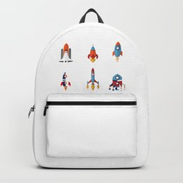 Space Rockets Backpack