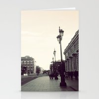 madrid Stationery Cards featuring Madrid by Miko Jester