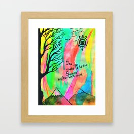 Sunrise. Framed Art Print