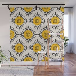 Ethnic Coins Wall Mural