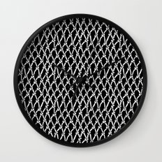Net Black Wall Clock