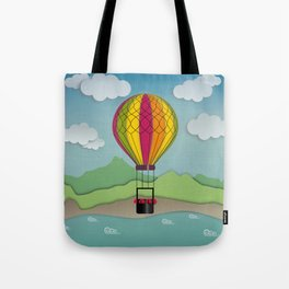 Balloon Aeronautics Sea & Sky Tote Bag
