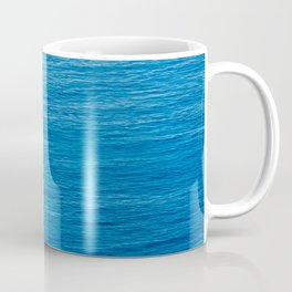 Ship over blue Coffee Mug