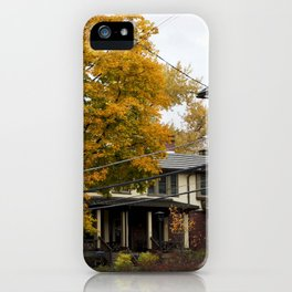 The Changing Leaves iPhone Case