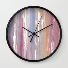 Purple Mist Wall Clock