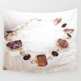 Watermelon Tourmaline Wall Tapestry
